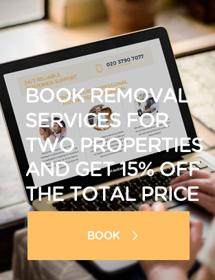 London offer removals for 2 properties and get 15 off the total price