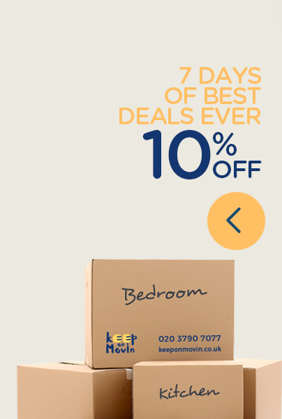 Max Moving Company 10% Off for returning customers